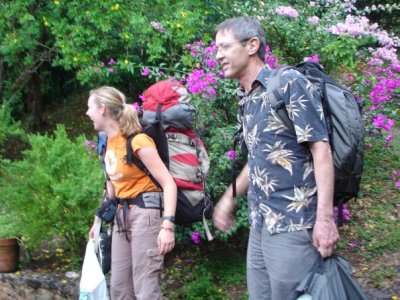 A favorite memory of Ingrid's deceased father Bill, from a backpacking trip they made together in Costa Rica.